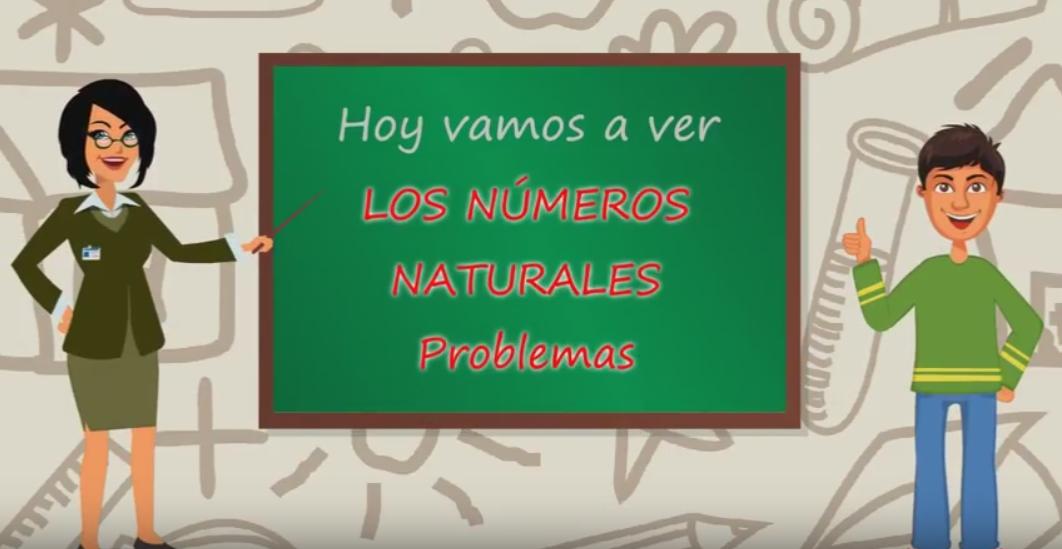 Los Números Naturales, Problemas – 1 de la ESO
