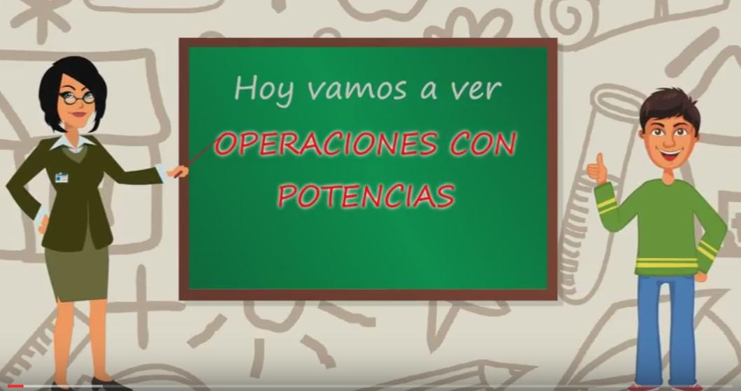 1º ESO operaciones con potencias – Introduccion