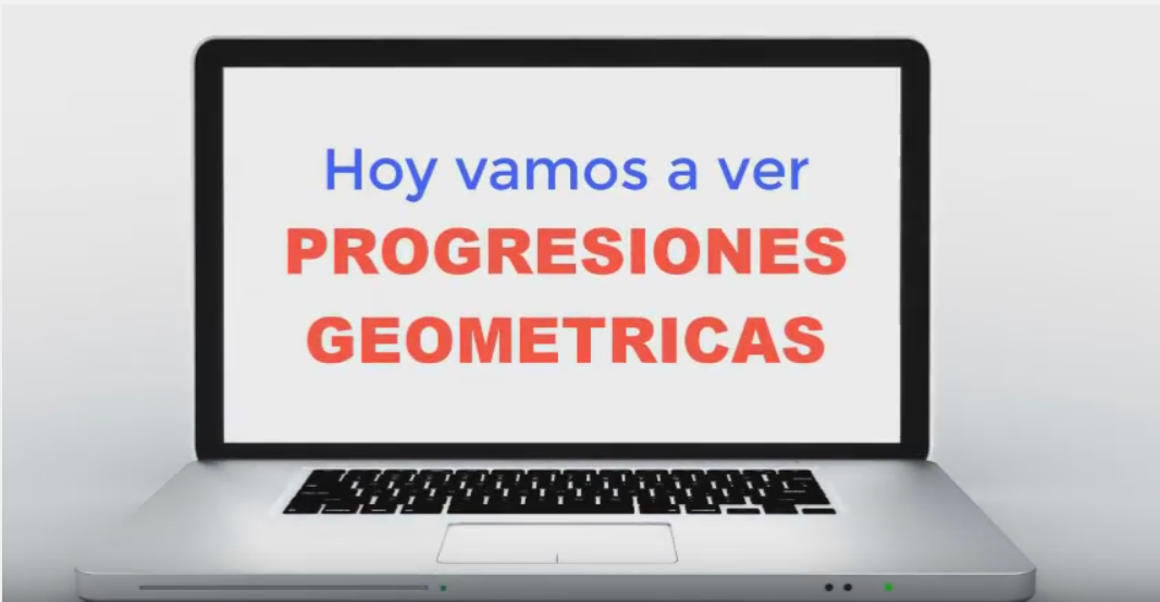 3º ESO – Progresiones Geométricas – Introdución